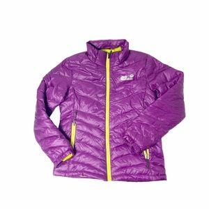 Jack Wolfskin XXL purple lightweight puffer